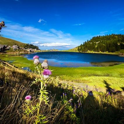 "The most beautiful ""mountain eye"": Prokoško Lake"