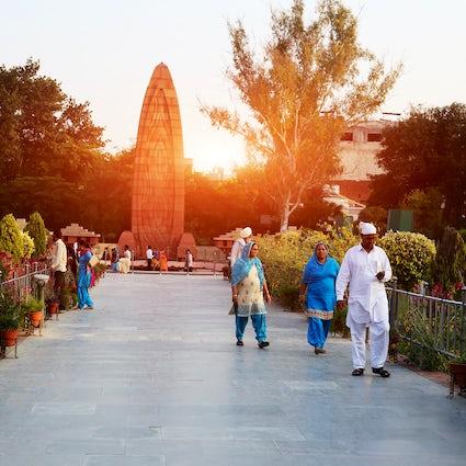 Jallianwala Bagh in Amritsar: memorial of the colonial atrocities