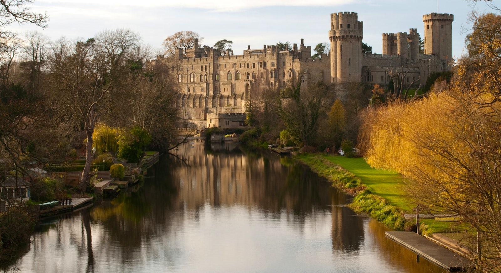 Destino castillo de Warwick
