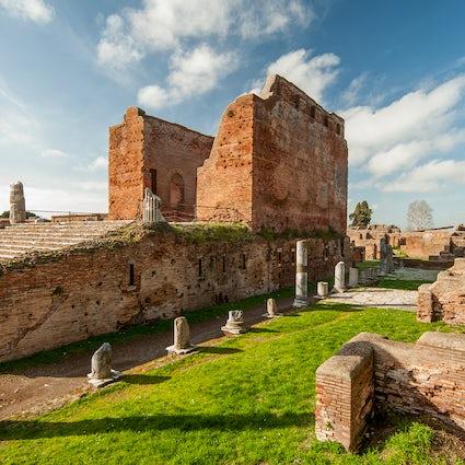 Ostia Antica And Its Roman Ruins