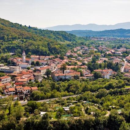 Nova Gorica, Slovenia's paradise of bourbon roses