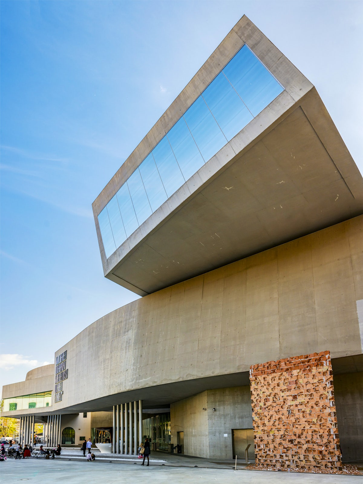 Contemporary art in Rome, the Maxxi museum