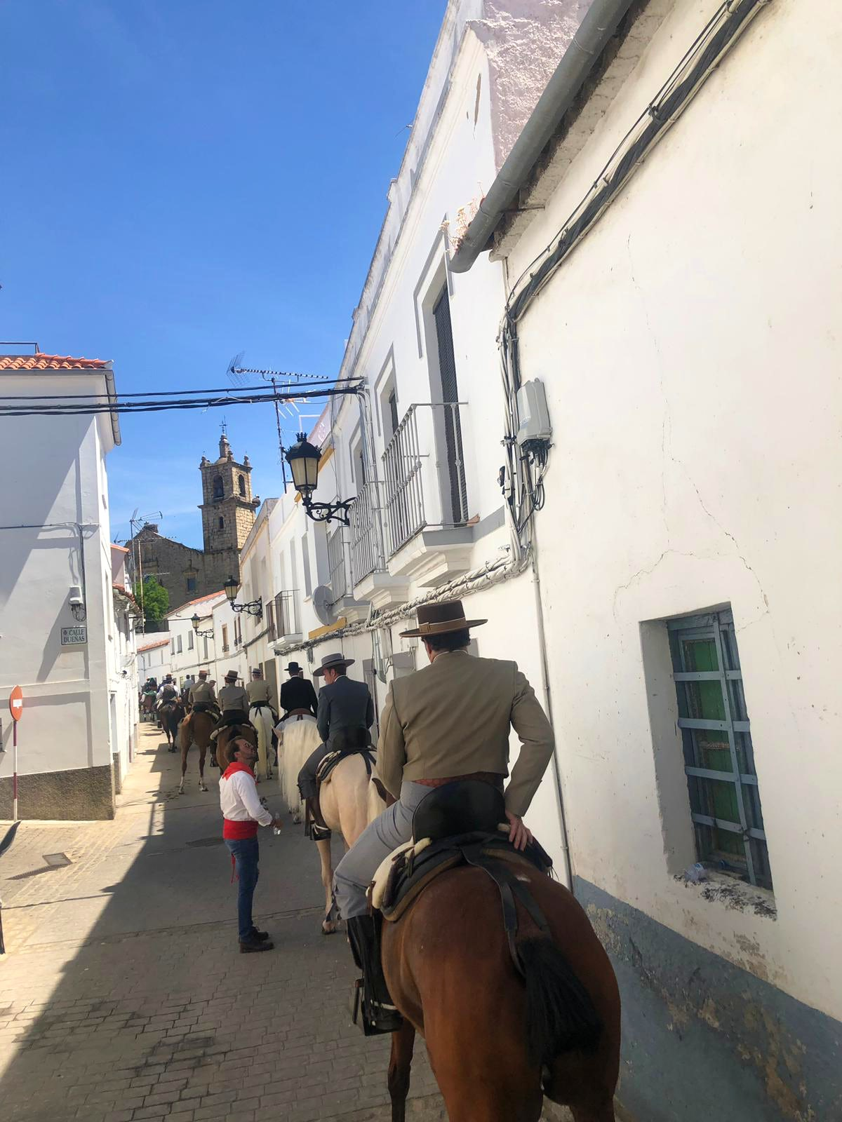 May 15th, a traditional Spanish celebration in the countryside
