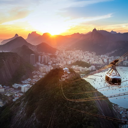 Pão de Açucar, Brazil's most famous cable car