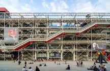 Les musées à Paris: le Centre Georges Pompidou
