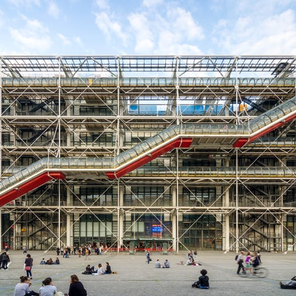 Museums in Paris: Georges Pompidou Centre