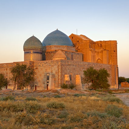 Einzigartige Mausoleen in Turkistan