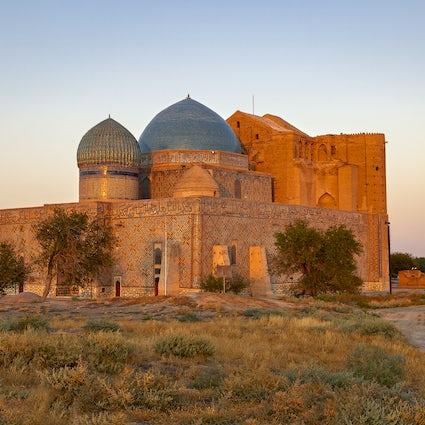 Unique mausoleums of Turkistan