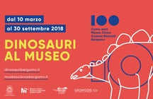Dinosaurs around Bergamo