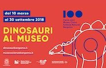 Dinossauros ao redor de Bergamo
