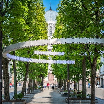 Liberty Avenue - the heart of Kaunas