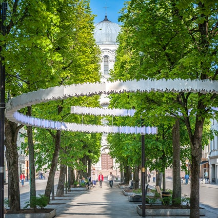 Liberty Avenue - the heart of Kaunas
