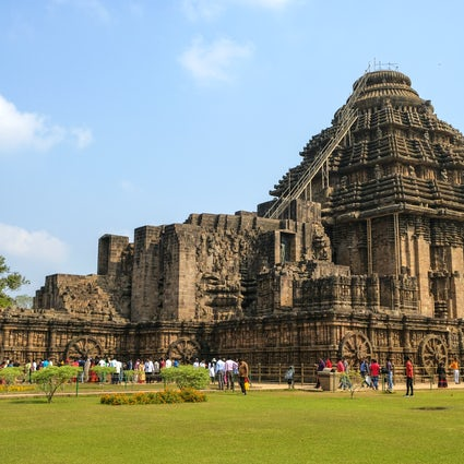 A day in the ancient town of Konark in Odisha