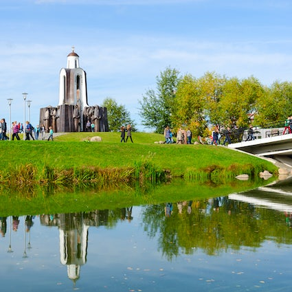 Island of Tears in Minsk: more than just a monument