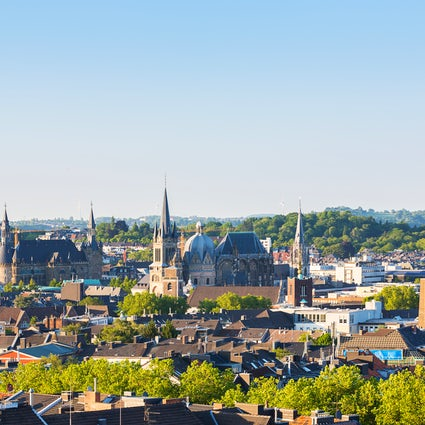 Aachen: Where Germany meets Belgium and the Netherlands!