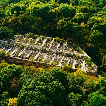El fuerte de Tarakaniv, una joya militar oculta en Ucrania