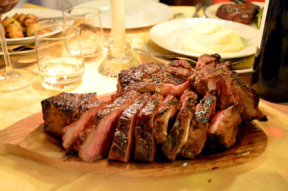 Florence's most delicious steaks