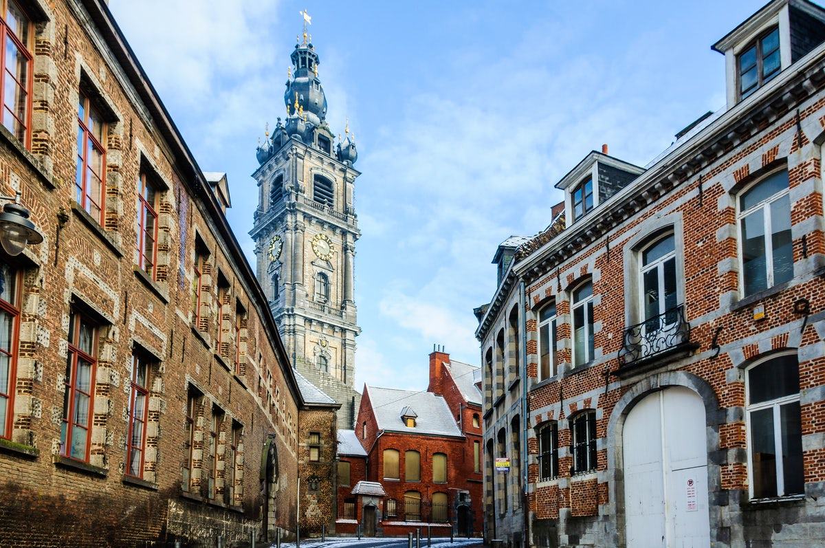 A day in Mons, Belgium