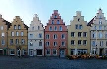 Animales feos y arquitectura medieval en Osnabrück