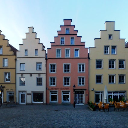 Ugly animals and medieval architecture in Osnabrück