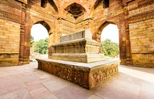 Qutub-Komplex: eine Darstellung von Delhi