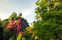 Parks and gardens in Paris: The Buttes-Chaumont park