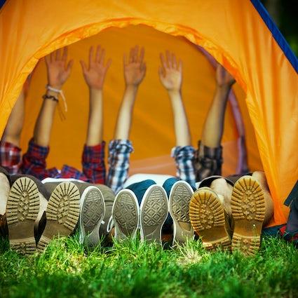 Orahovica, a camping weekend in civilization