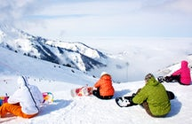 Almaty's best winter activity: Skiing at Shymbulak Mountain