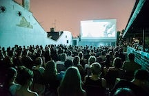 Open air cinema of Belgrade - Zvezda