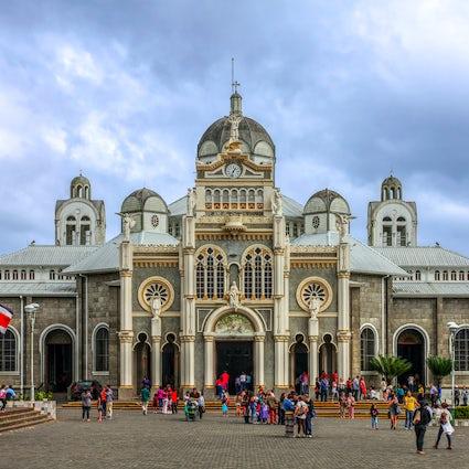The annual pilgrimage to the Basilica of Cartago