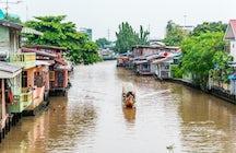 Banguecoque da água: viagem de barco khlong