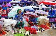 Tribal cultures of North Vietnam in Bac Ha