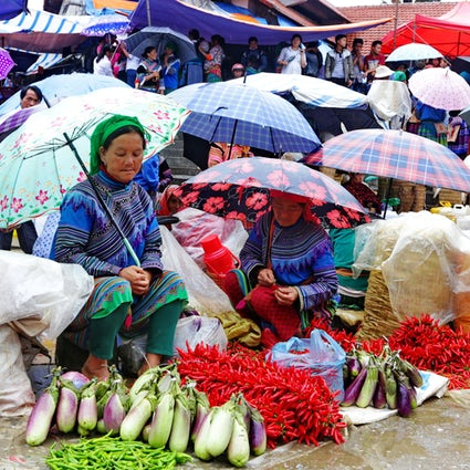 Stammeskulturen von Nordvietnam in Bac Ha