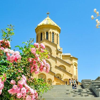 Sameba Cathedral - the symbol of the Georgian national and spiritual revival