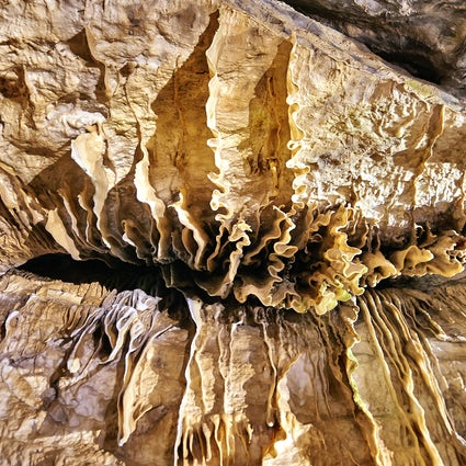 A journey to the center of earth: Domain of the Caves of Han