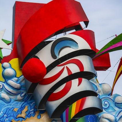 ¿Todo va bien en Carnaval! El Carnaval de Viareggio