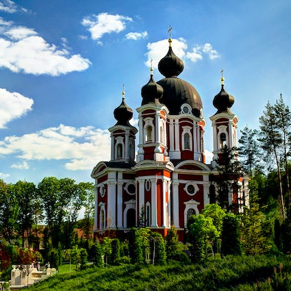Curchi Monastery: a religious heritage of Bessarabia