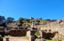 Munigua, a hidden Roman city in the Sevilla sierra