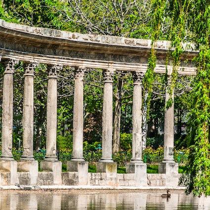 Parks and gardens in Paris: Monceau
