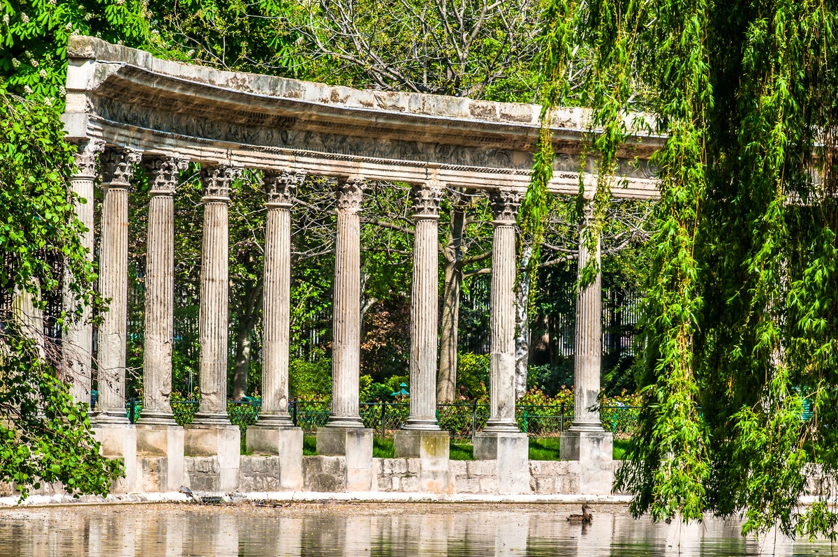 Parks and gardens in Paris: Monceau