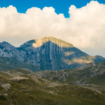 Prutaš - the best view of Durmitor massif