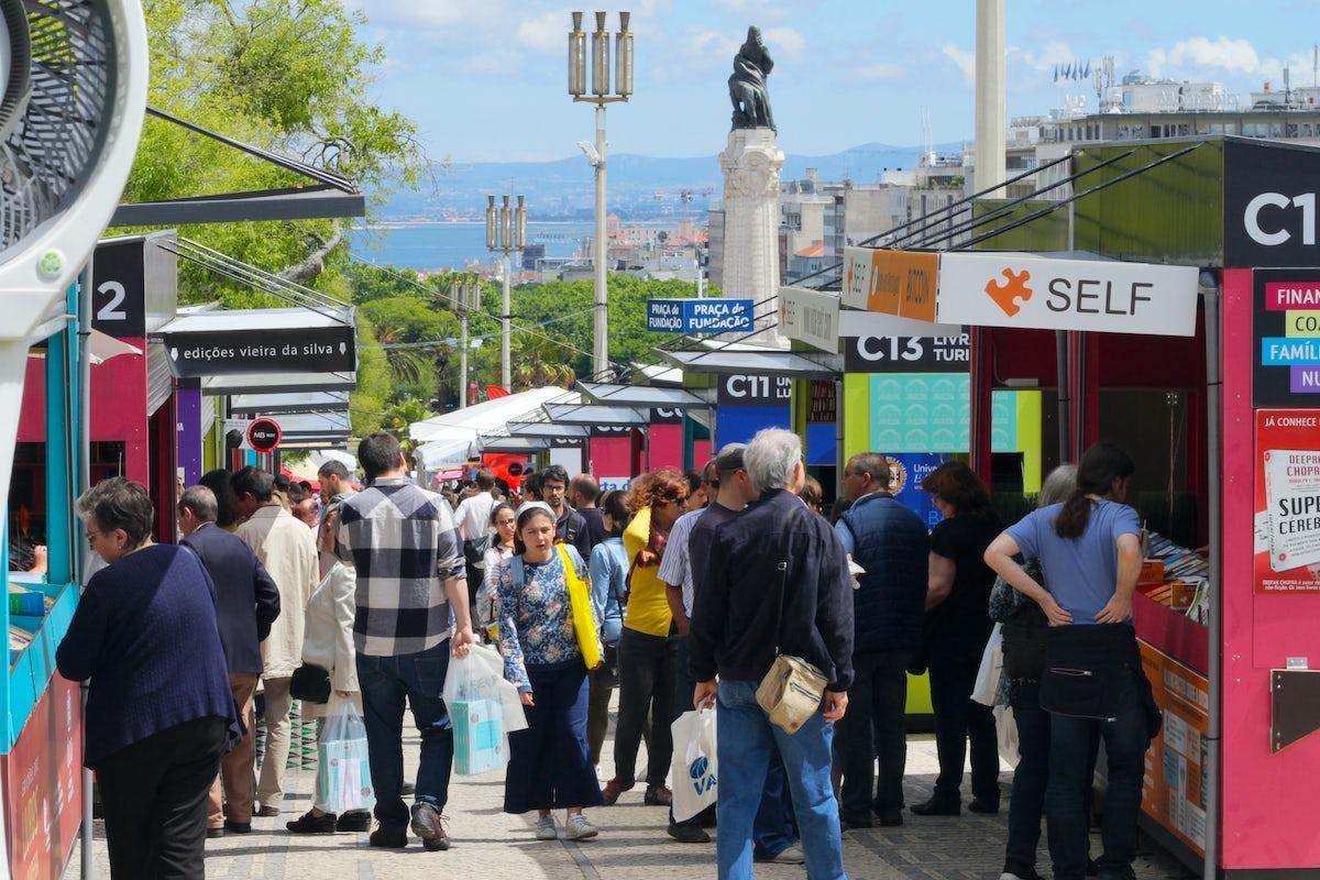 Feira do Livro de Lisboa - more than a book fair!