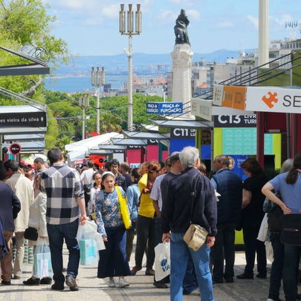 Feira do Livro de Lisboa - more than a book fair!