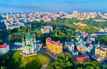 Andriyivskyy Descent in Kyiv, 750 meters of aesthetic pleasure