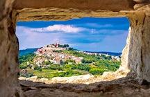 Motovun, uma cidade medieval e local do festival de cinema