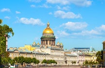 St. Isaac's Cathedral, Saint Petersburg: viewing point