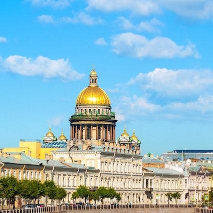 Catedral de San Isaac, San Petersburgo: mirador
