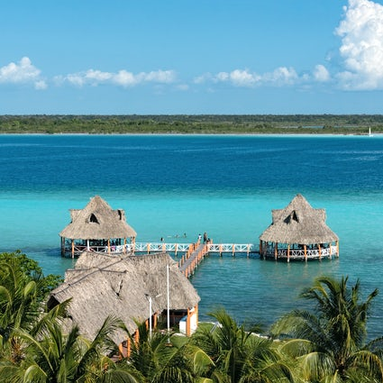 Bacalar: Pueblo Magico and the lagoon of 7 colors