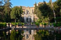 Villa d'Este, un parque acuático de 500 años de antigüedad