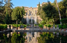 Villa d'Este, a 500 years old water park